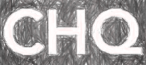 hand-sketch variation of CHQ logo